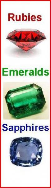 Rubies Emeralds Sapphires Diamonds